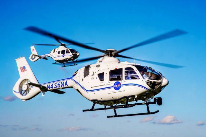 H135 Airbus NASA