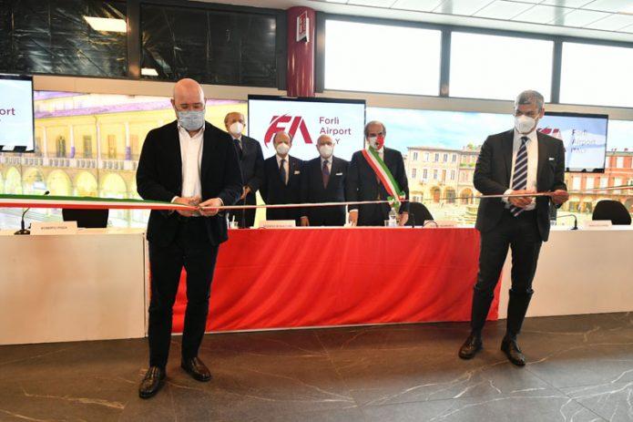 Inaugurazione Forlì Airport