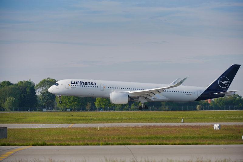 LH A350 FRA