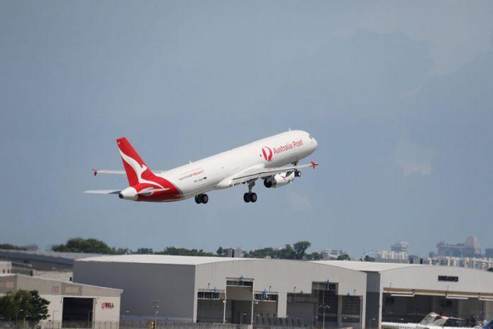 qantas a321 p2f enters into service