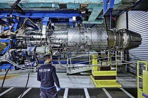 AvioAero Test Cell a Brindisi