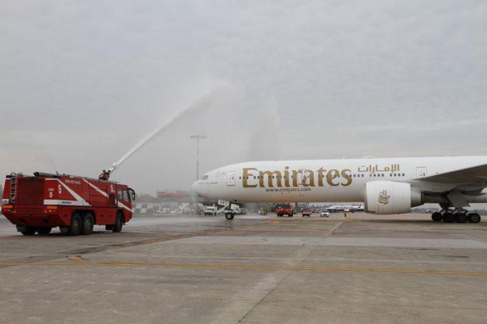 EMIRATES AT BOLOGNA AIRPORT 1 NOV 2020