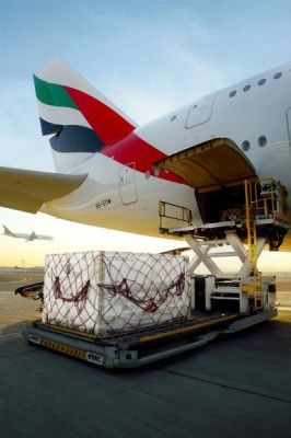 Emirates skycargo A380 cargo operations