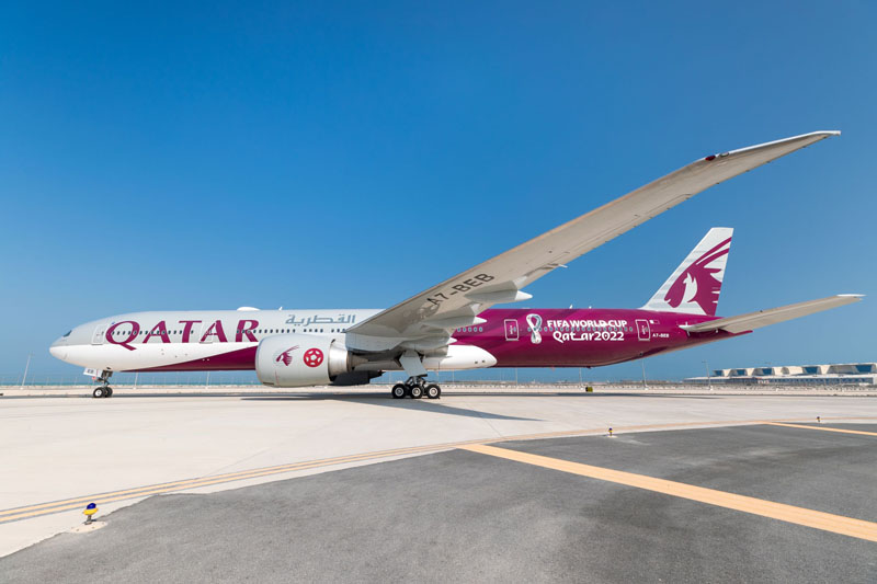 Qatar Airways FIFA Livery