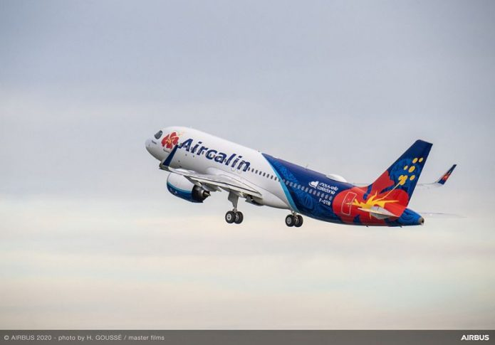 A320neo Delivery To Aircalin Ferry Flight
