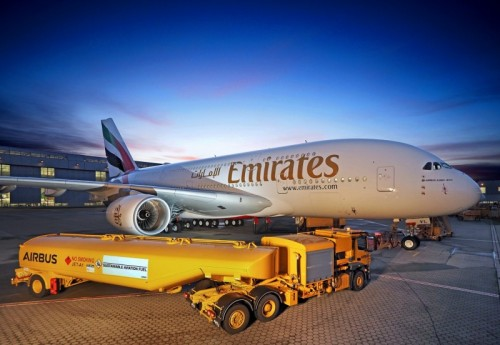 A380 Delivery SAF Emirates