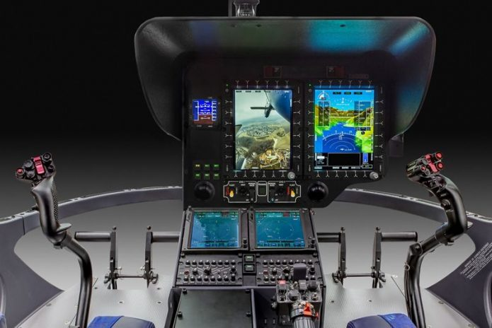 Airbus New single pilot IFR Helionix cockpit H135 helicopters