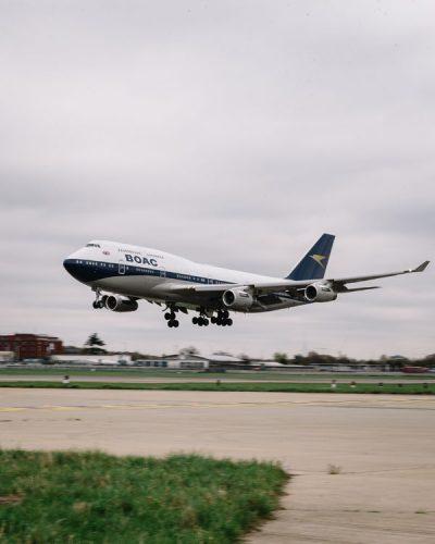 British Airways 747 BOAC Livery