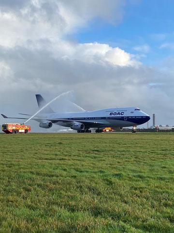 British Airways 747 G BYGC