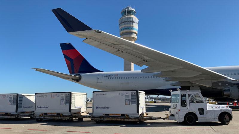 Delta Cargo Vaccine Shipments