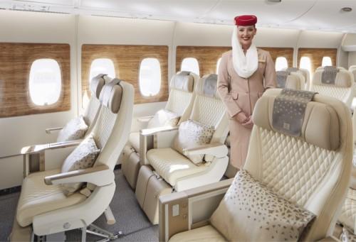 Emirates Premium Economy A380