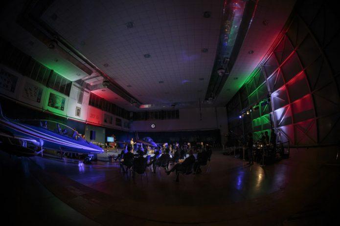 Frecce Tricolori Hangar Presentazione 2021