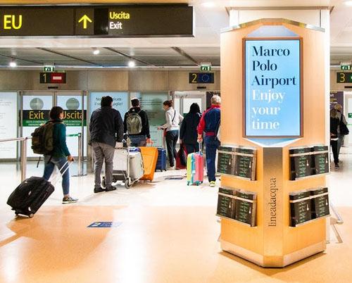 In Time in aeroporto