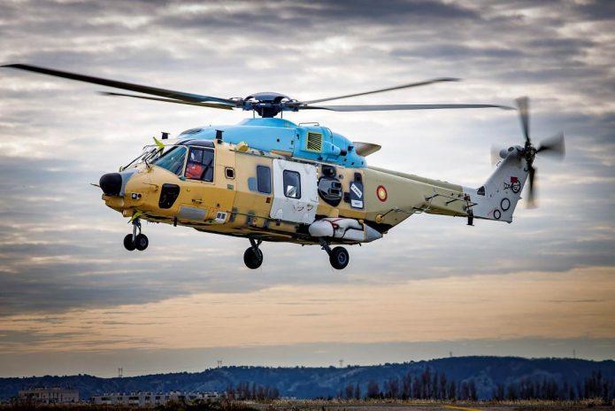 NH90 TTH Qatar 1st flight