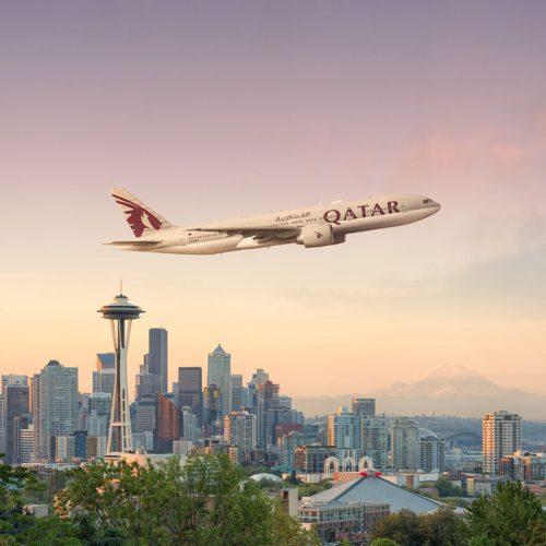 Qatar Airways Seattle