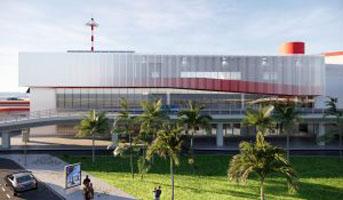 Render ampliamento Aeroporto di Genova