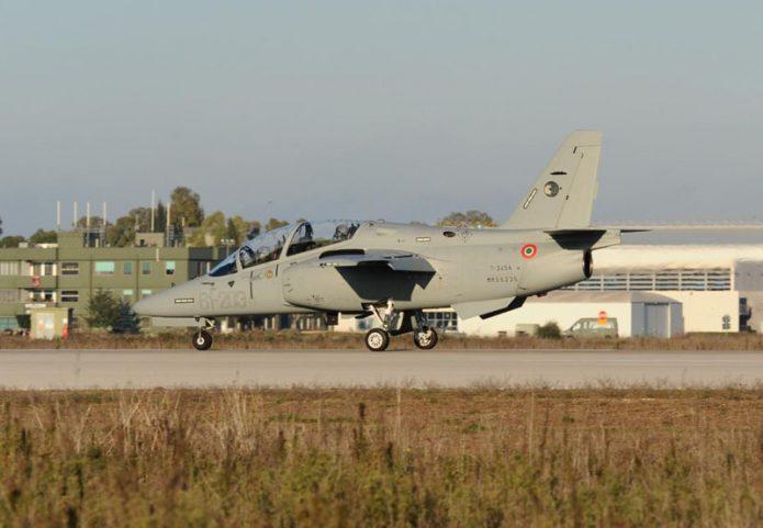 T345A Arrivo presso 61 Stormo