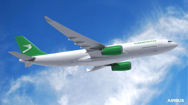 A330 200P2F Turkmenistan Airlines