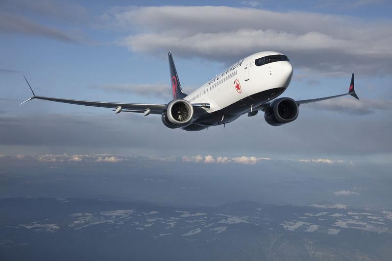 B737 Max 8 Air Canada