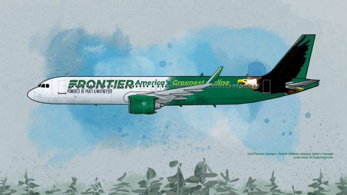 Frontier Airlines A321neo GTF