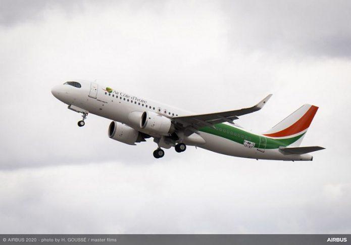 A320neo Air Cote dIvoire