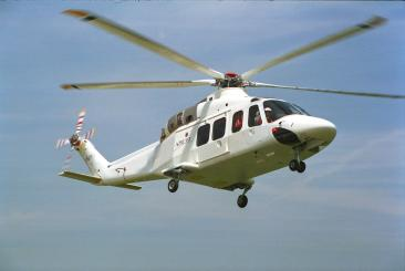 AW139 1st flight 3 Feb 2001