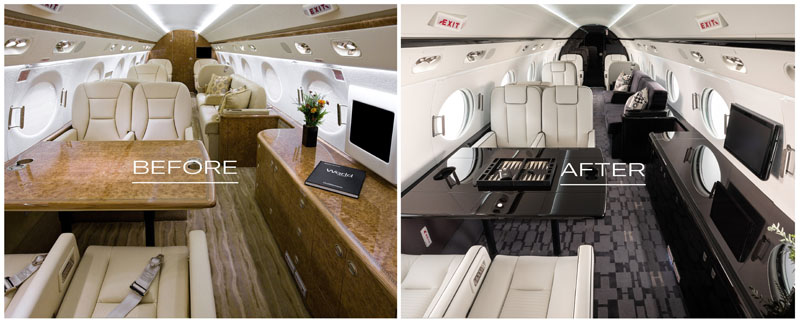 Aircraft Redesign Before and After Cabin 20210209