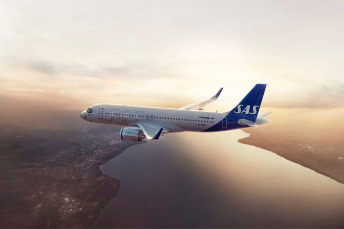 SAS Scandinavian Airlines A320neo