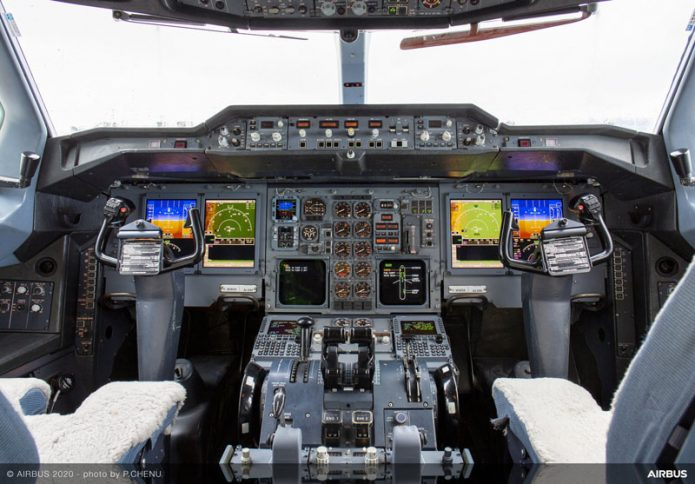 UPS A300 600F cockpit upgrade 1