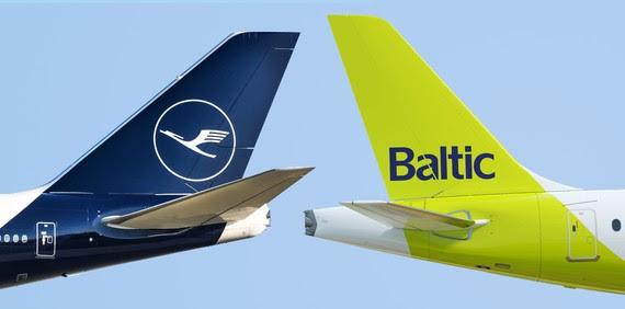 airBaltic Lufthansa