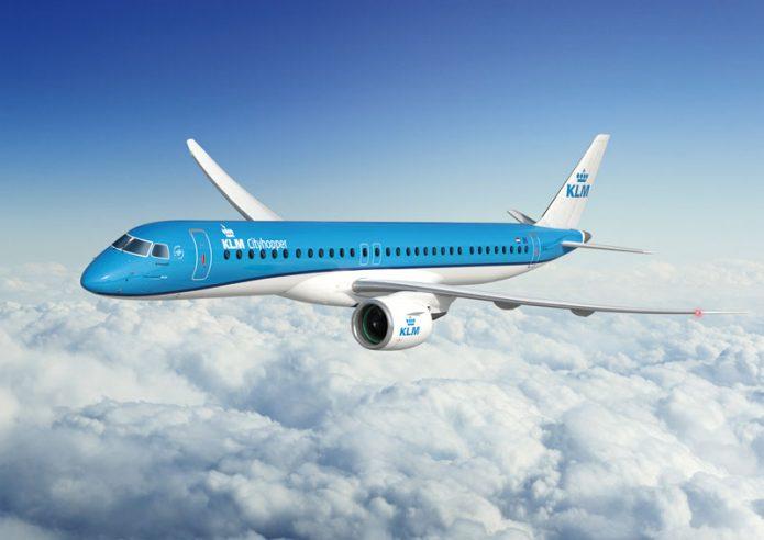 E195 E2 GTF KLM Cityhopper