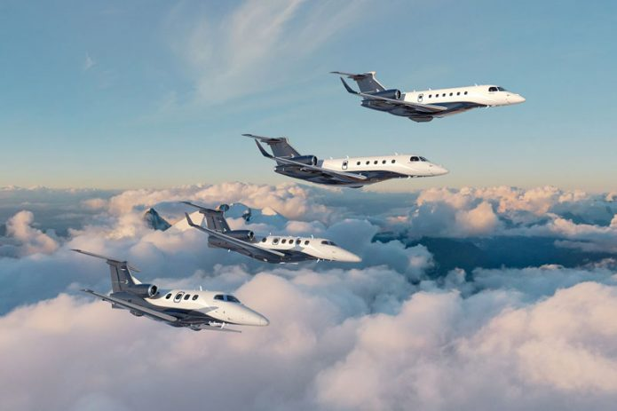 Embraer executive jets family
