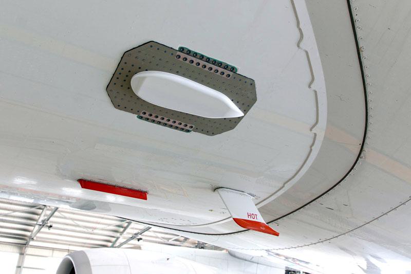 Lufthansa A350 Erfurt