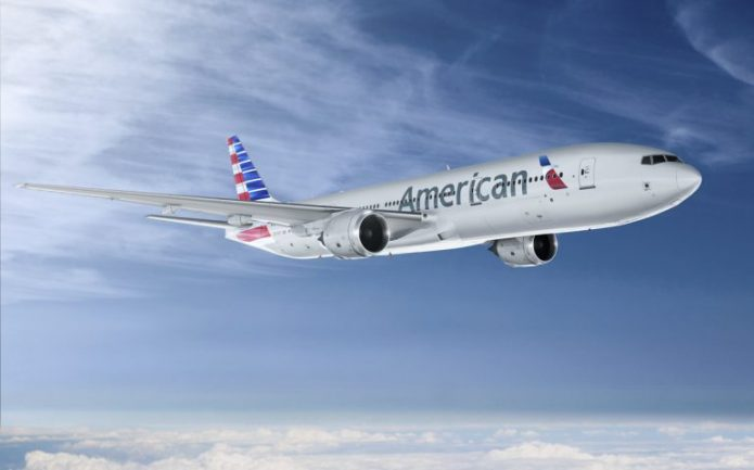 American Airlines 777 200