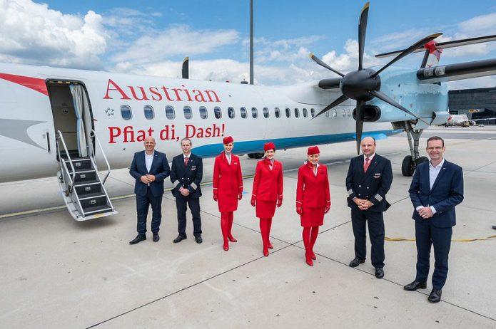 Austrian Airlines Last Flight Dash 8