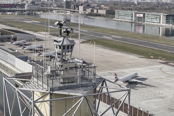 London City Airport Saab Digital Tower