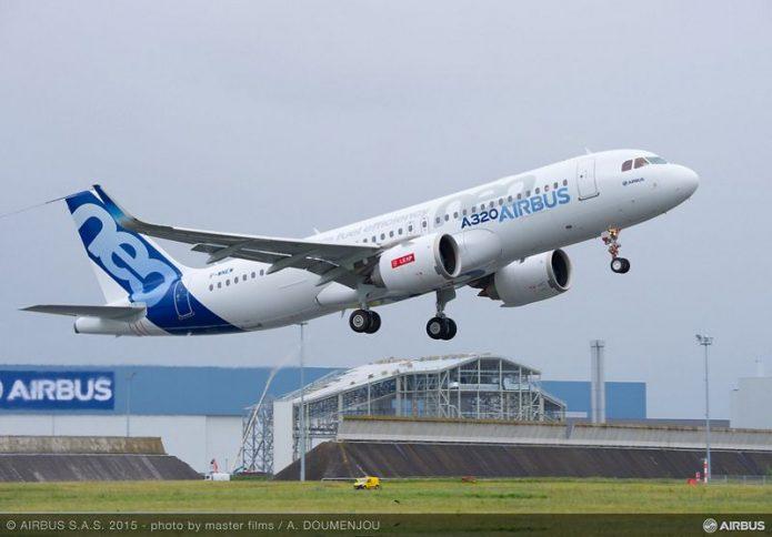 A320neo Take Off
