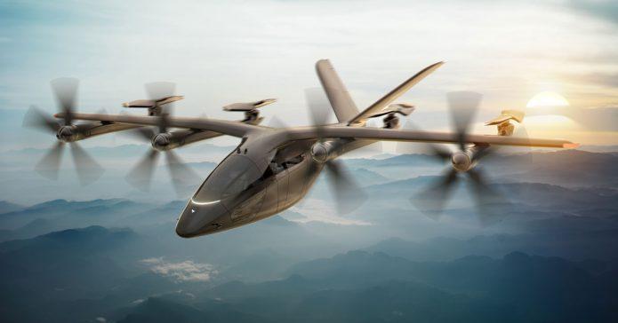 American Airlines Vertical Aerospace UAM