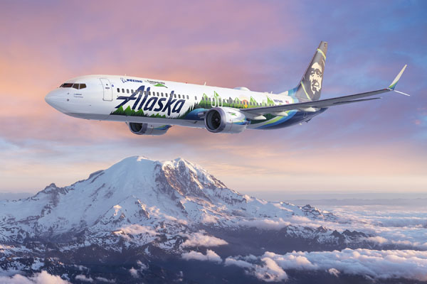 Boeing ecoDemonstrator Alaska Airlines
