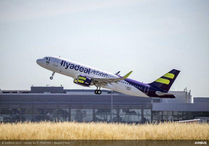 A320neo Flyadeal MSN10255 Take Off 008