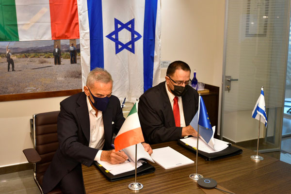 Atitech accordo Israel Aerospace Industries