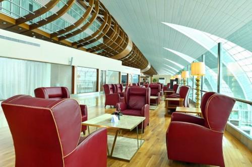 DXB Emirates First Lounge