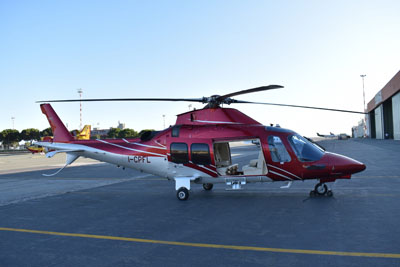 Elicottero Novaris a Genova