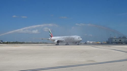 Emirates Miami B777