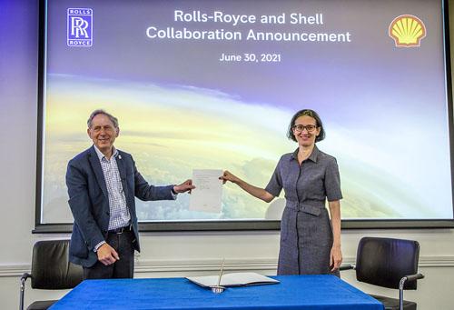 Rolls Royce Shell