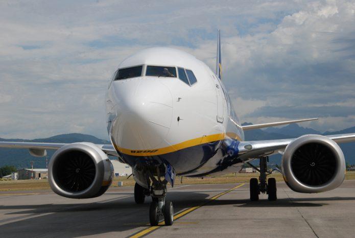 Ryanair 737 8200 BGY 3