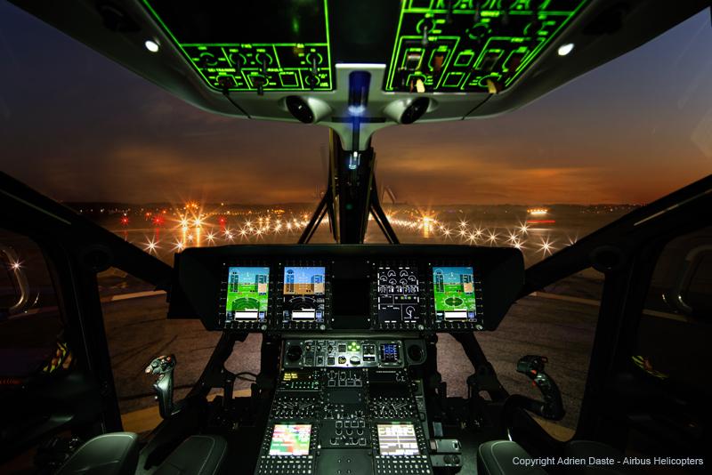 ACH160 Cockpit