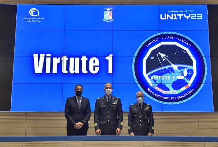 Aeronautica Militare CNR SpaceshipTwo