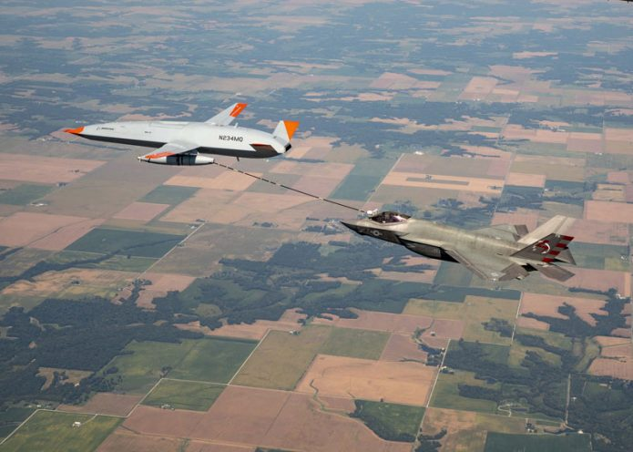 MQ 25 F 35 Refueling