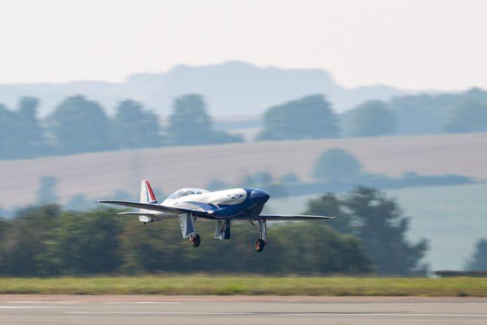Rolls Royce Spirit of Innovation First Flight
